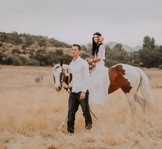 A Charming Styled Southwestern Wedding