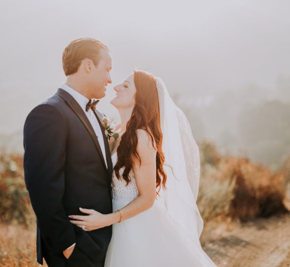 Shea & Colin's Rustic Wedding Romance With a Touch of Chic